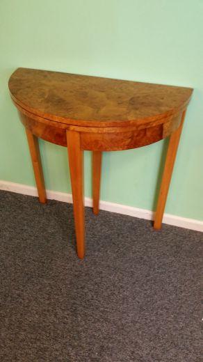 Art deco console table art deco tables gazelles of lyndhurst - Table de nuit art deco ...