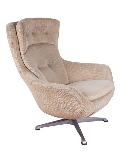 SOLD Chairs MID CENTURY MODERN DESIGN EGG SWIVEL CHAIR (item #1699)