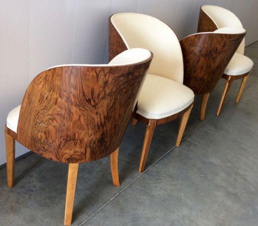 Art Deco Tub Chairs   Chairs   Gazelles of Lyndhurst