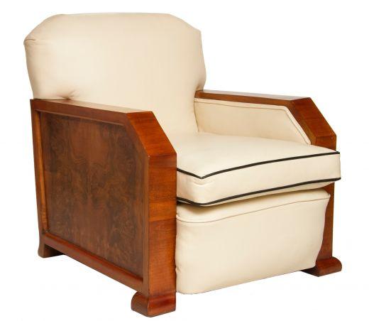 SOLD Art Deco Armchairs ART DECO ARMCHAIR (item #1785)