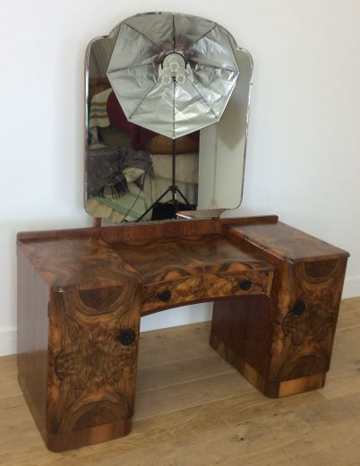SOLD Art Deco Dressing Tables ART DECO DRESSING TABLE (item #1830)